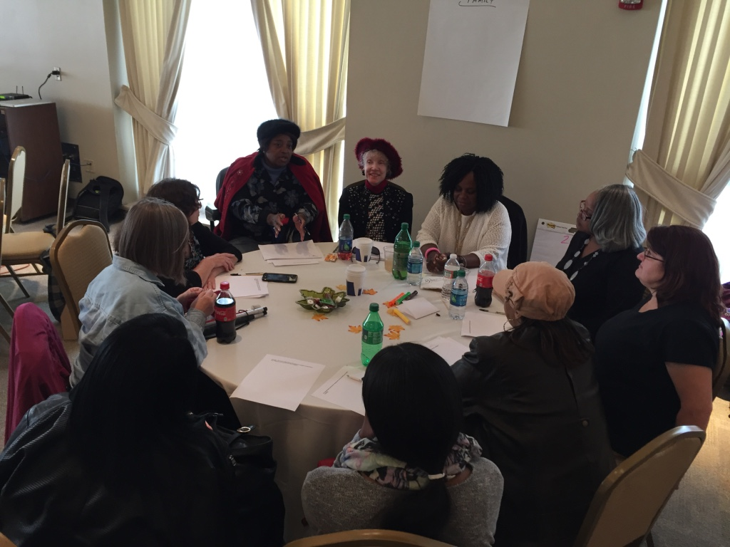 Lifesharing stakeholders take part in a strategic planning session