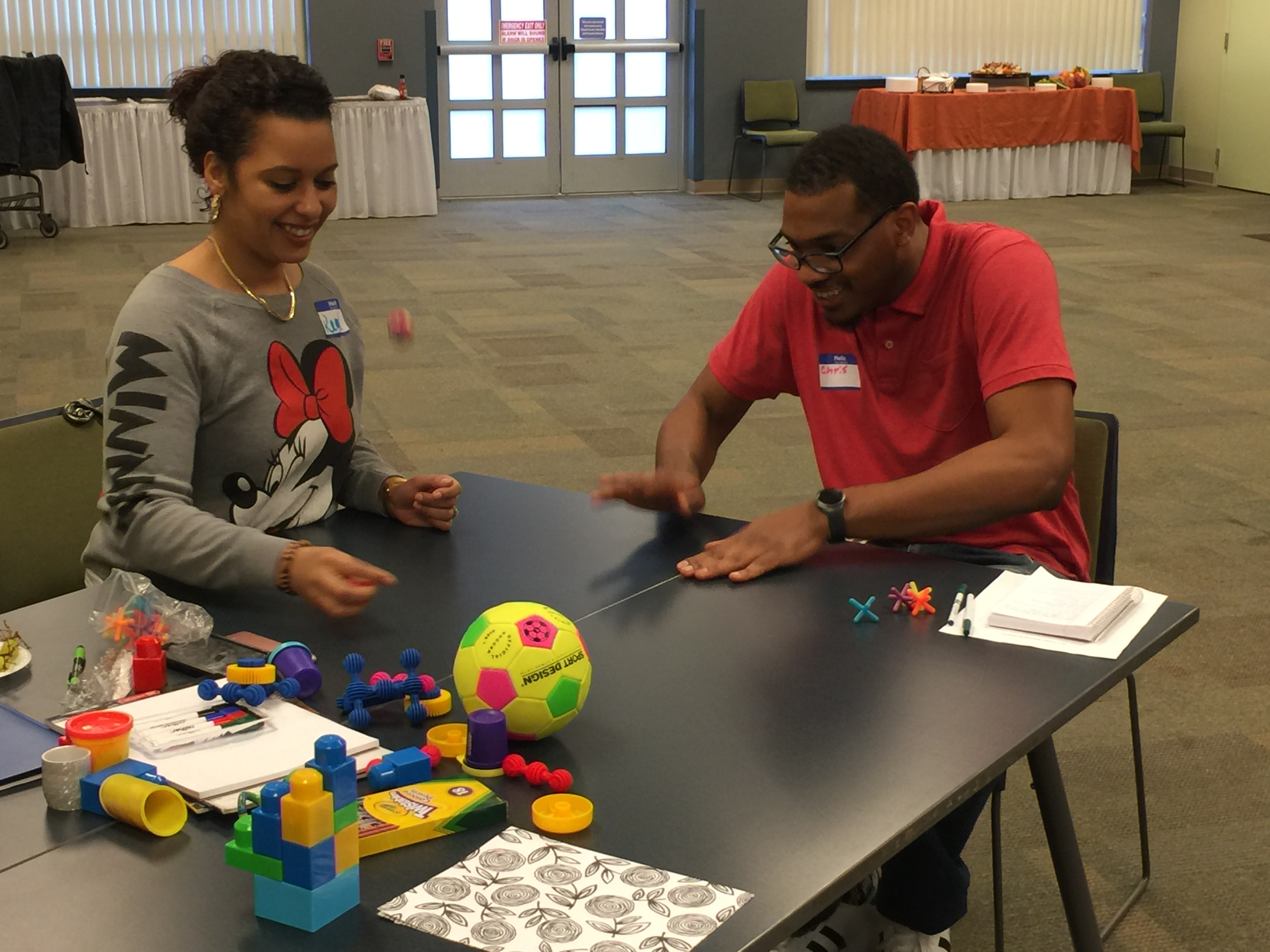 Learning to play and be creative during Trainers' Bootcamp