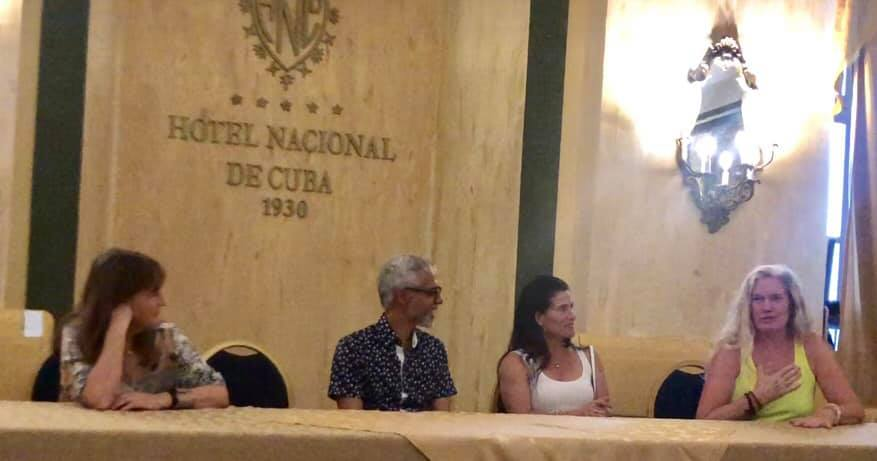 Presenting our Wholistic Practices work while in Cuba