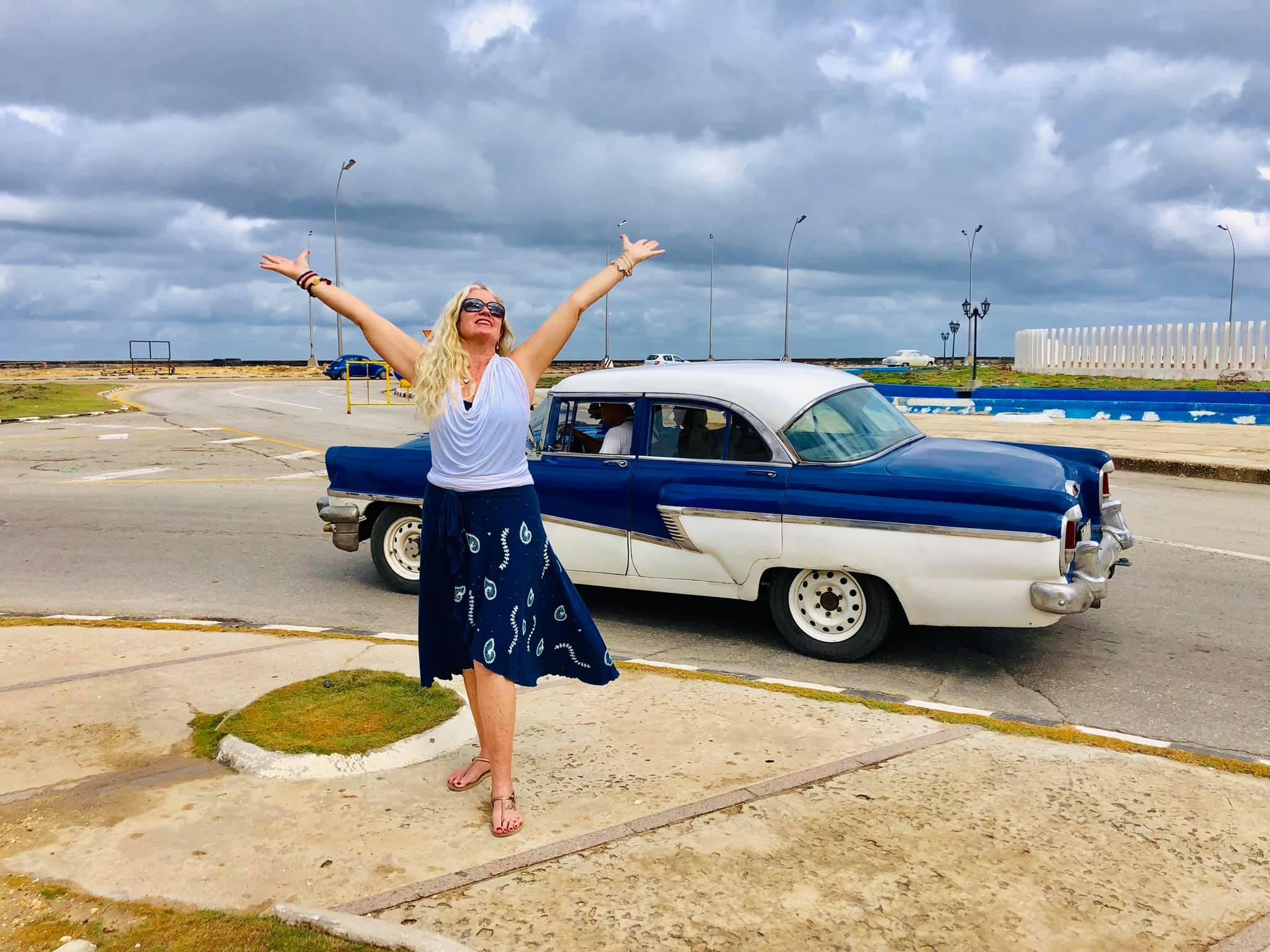 Rosa during the Cuba 2019 trip