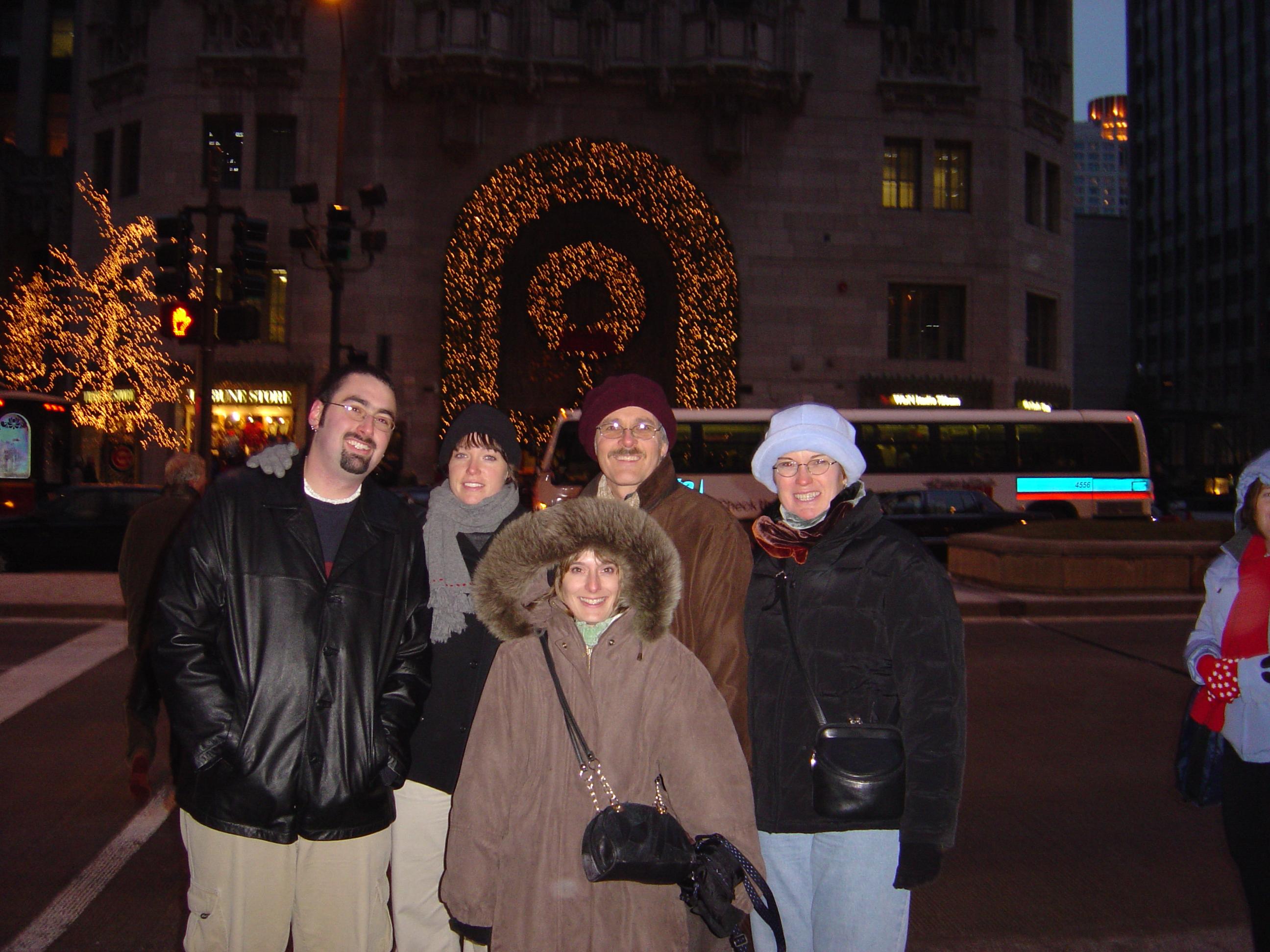 Michael, Jen, Mike, Rosa, & Michelle