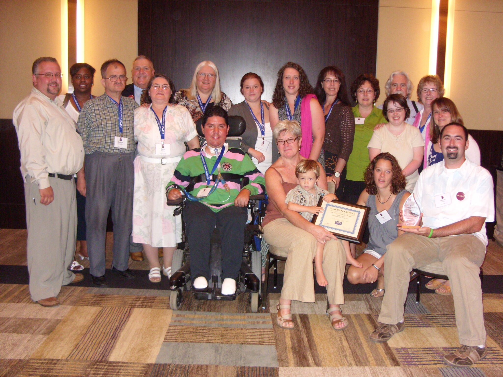 Coming together at 2010 APSE conference to remember Mike