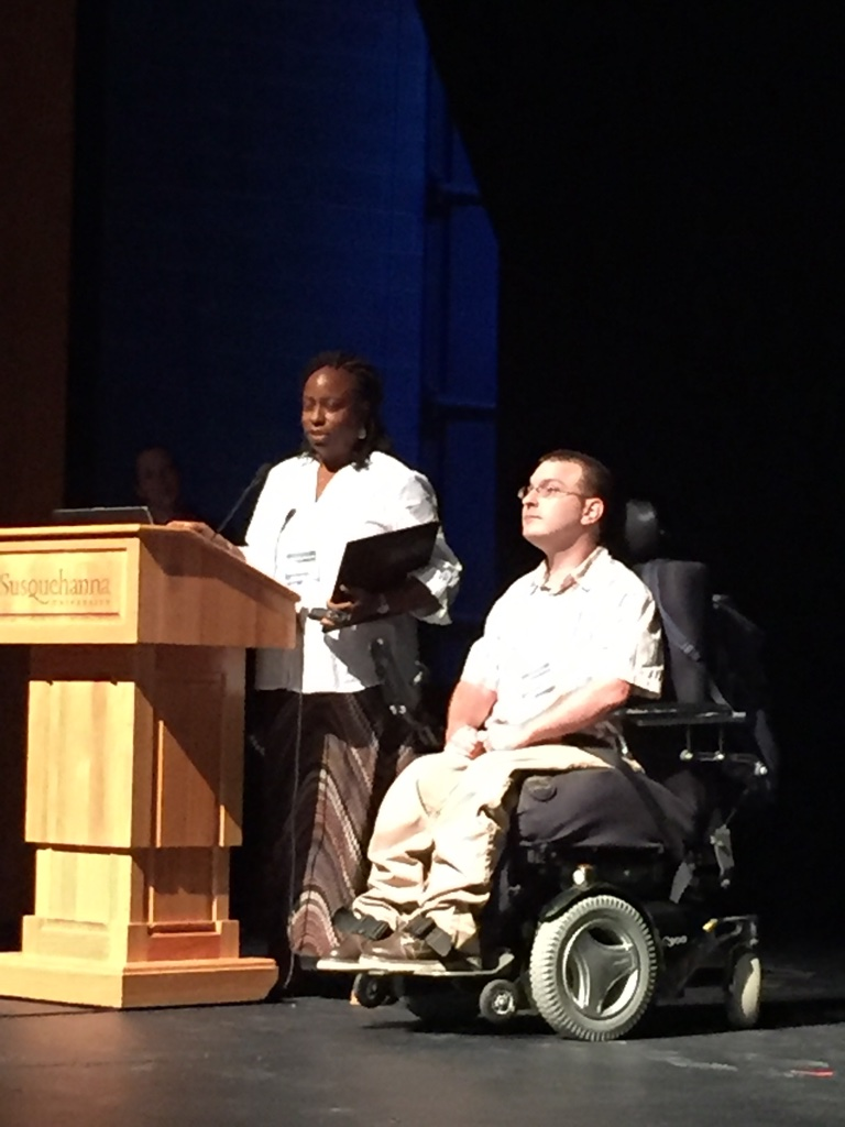 Hearing from self advocates during the Symposium