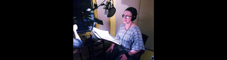 jess in studio