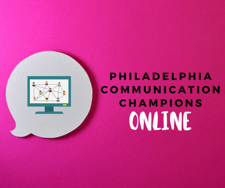 TEXT: Philadelphia Communication Champions ONLINE