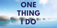 One Thing I Do